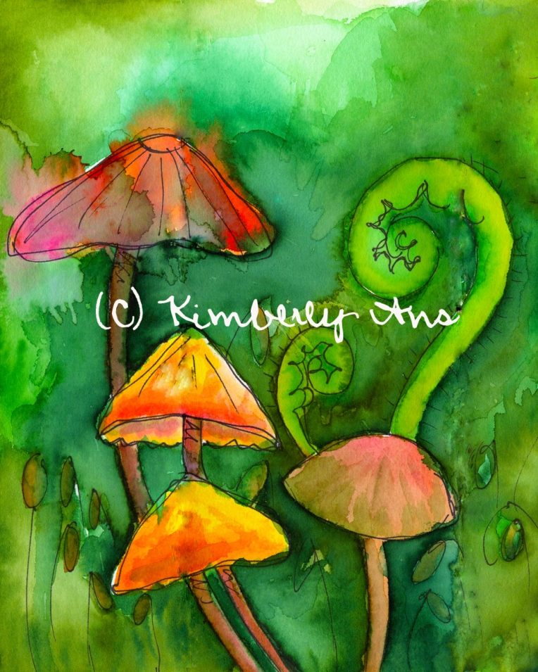 Mushrooms Etsy